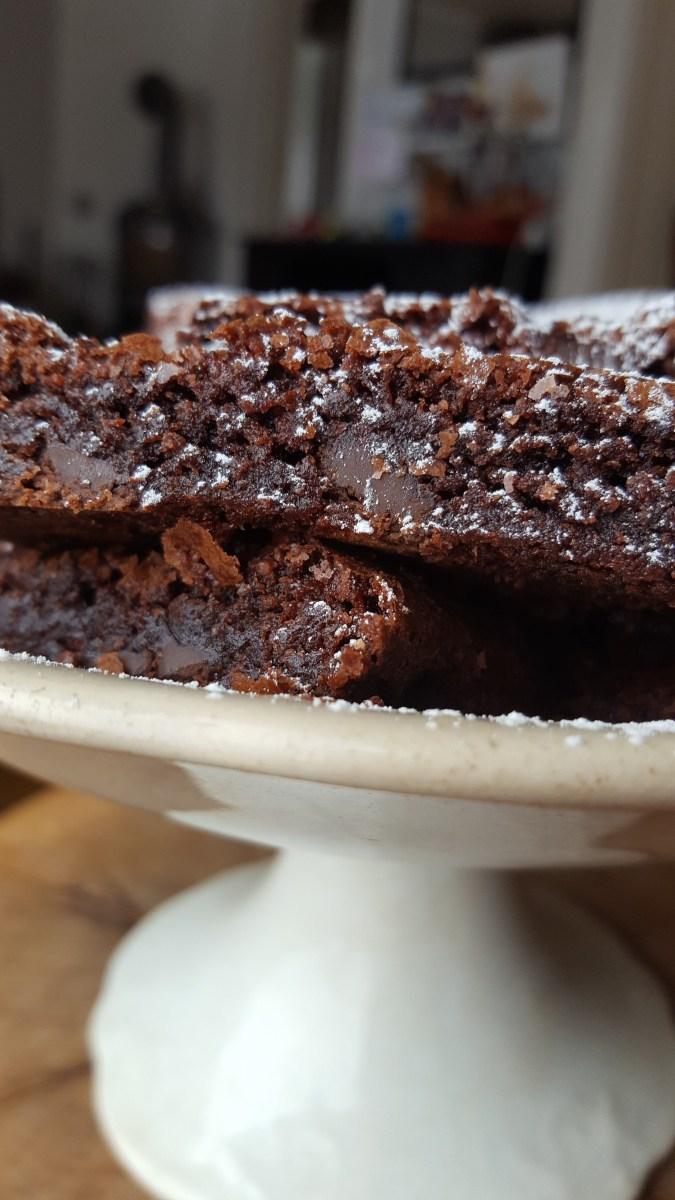 Enkel gluten- og melkefri brownies