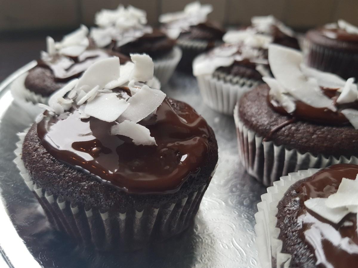 Sjokolademuffins uten egg, melk og gluten