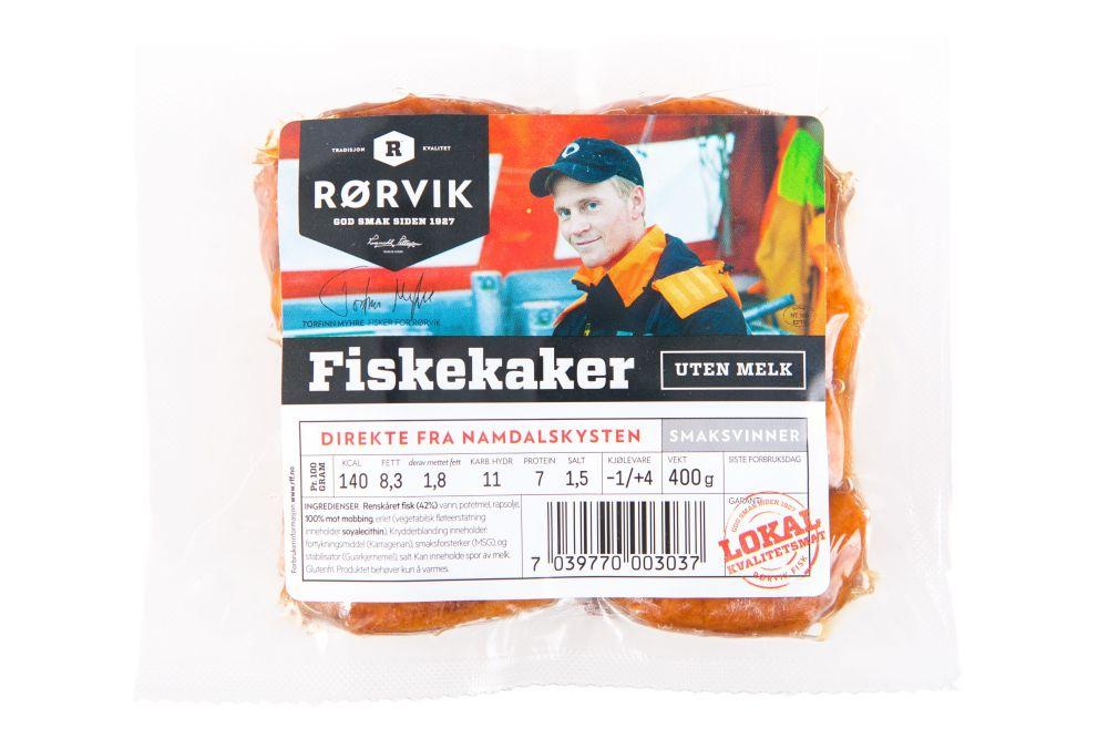 Gluten- og melkefri fiskekaker fra Rørvik