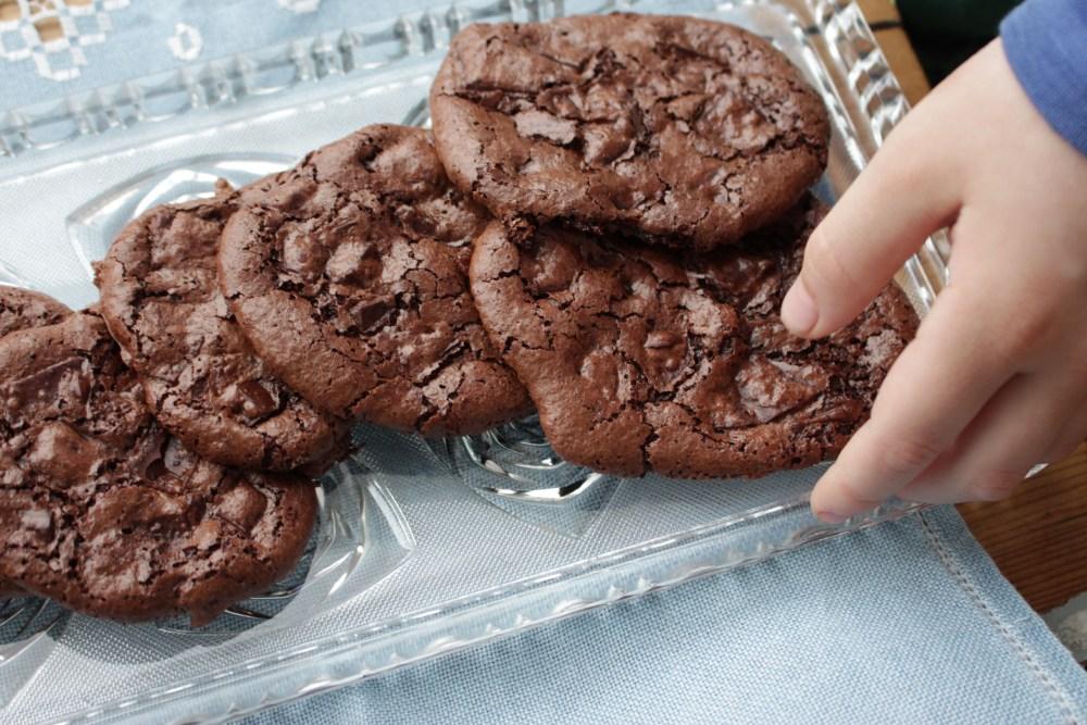 Gluten- og melkefrie sjokoladekjeks