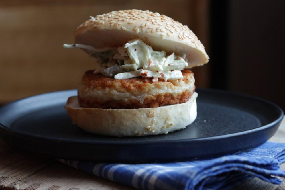 Fiskeburger med coleslaw 006