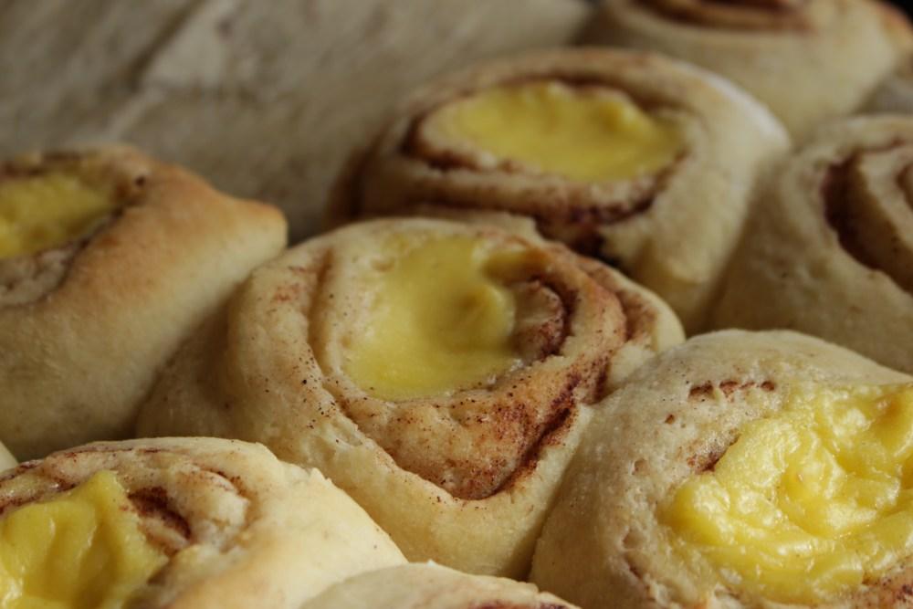 Brød og knekkebrød solskinnsboller 041