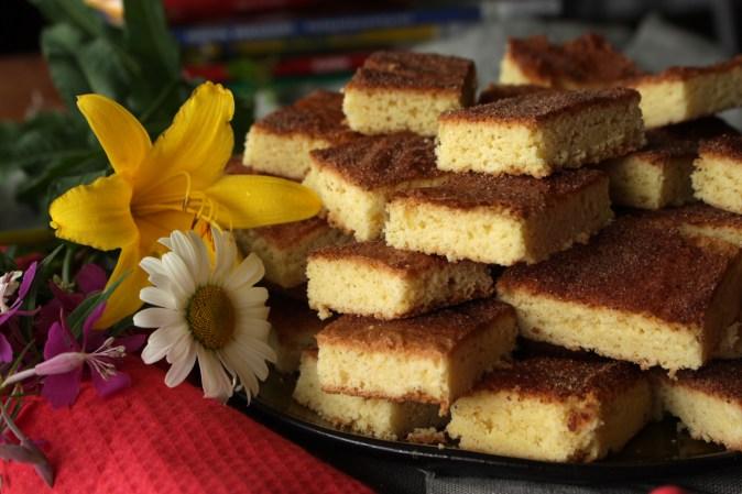 Gluten- og melkefri Vaniljekladdkake