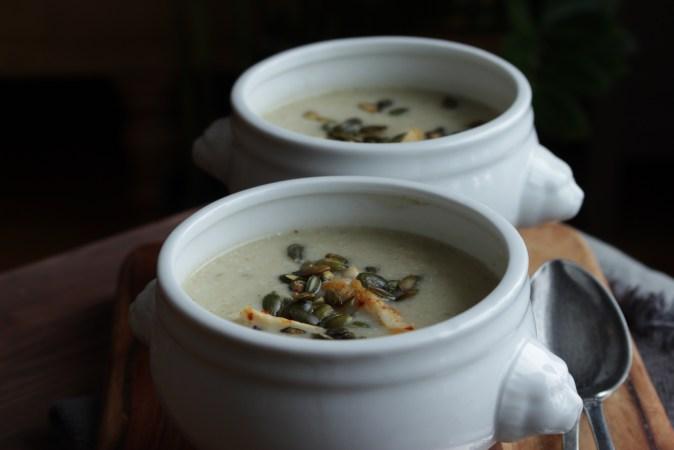 Blomkålsuppe med koriander