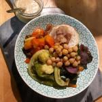 Salade sans gluten vegan Le Comptoir Nice
