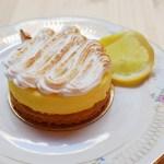 Tarte citron sans gluten Paris Biosphere Cafe