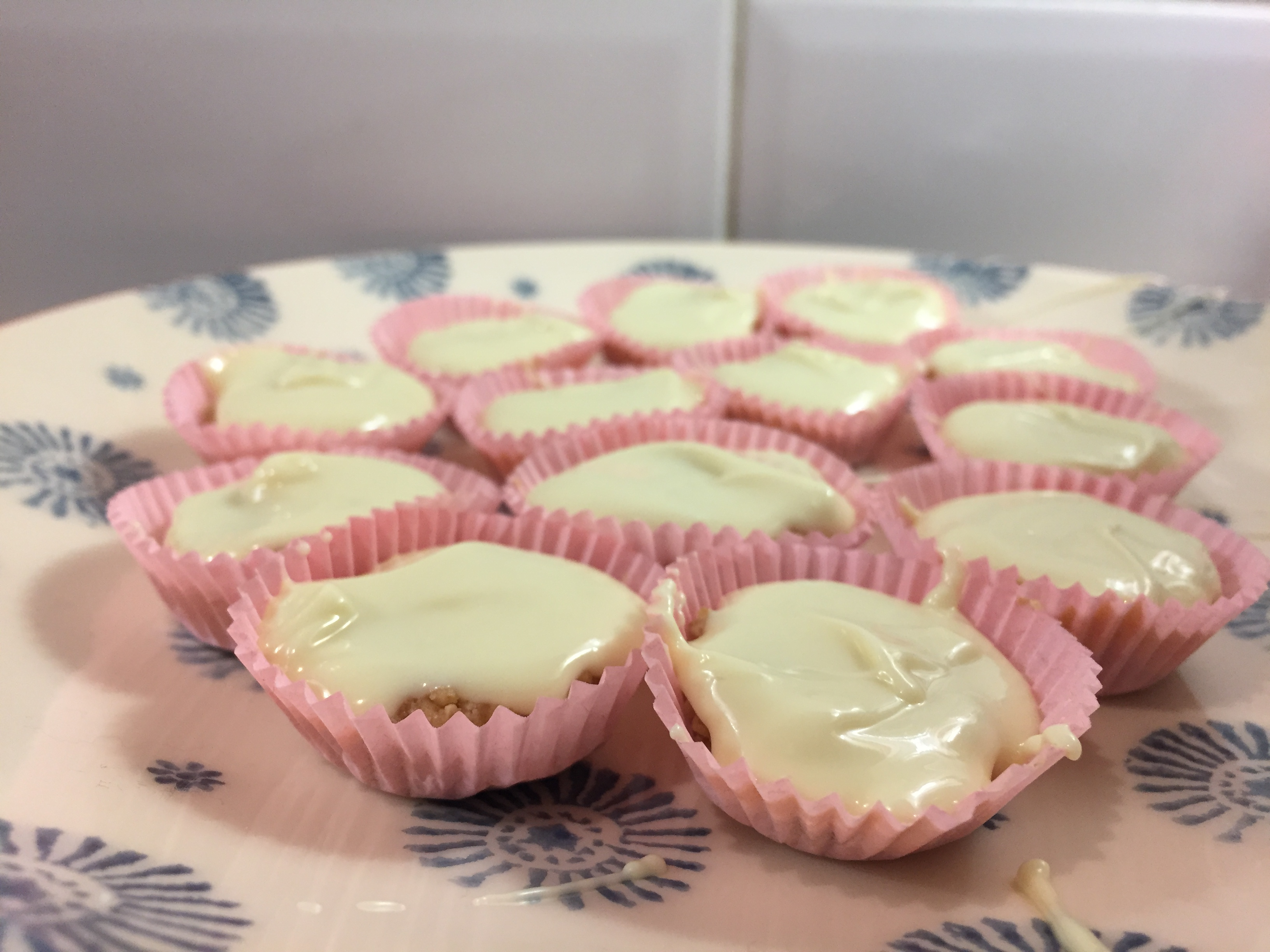 White choc peanut butter cups recipe (better than Reese's)