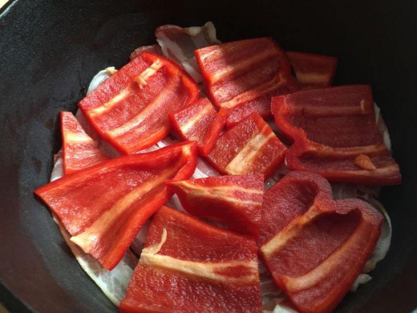 Bacon und Paprika