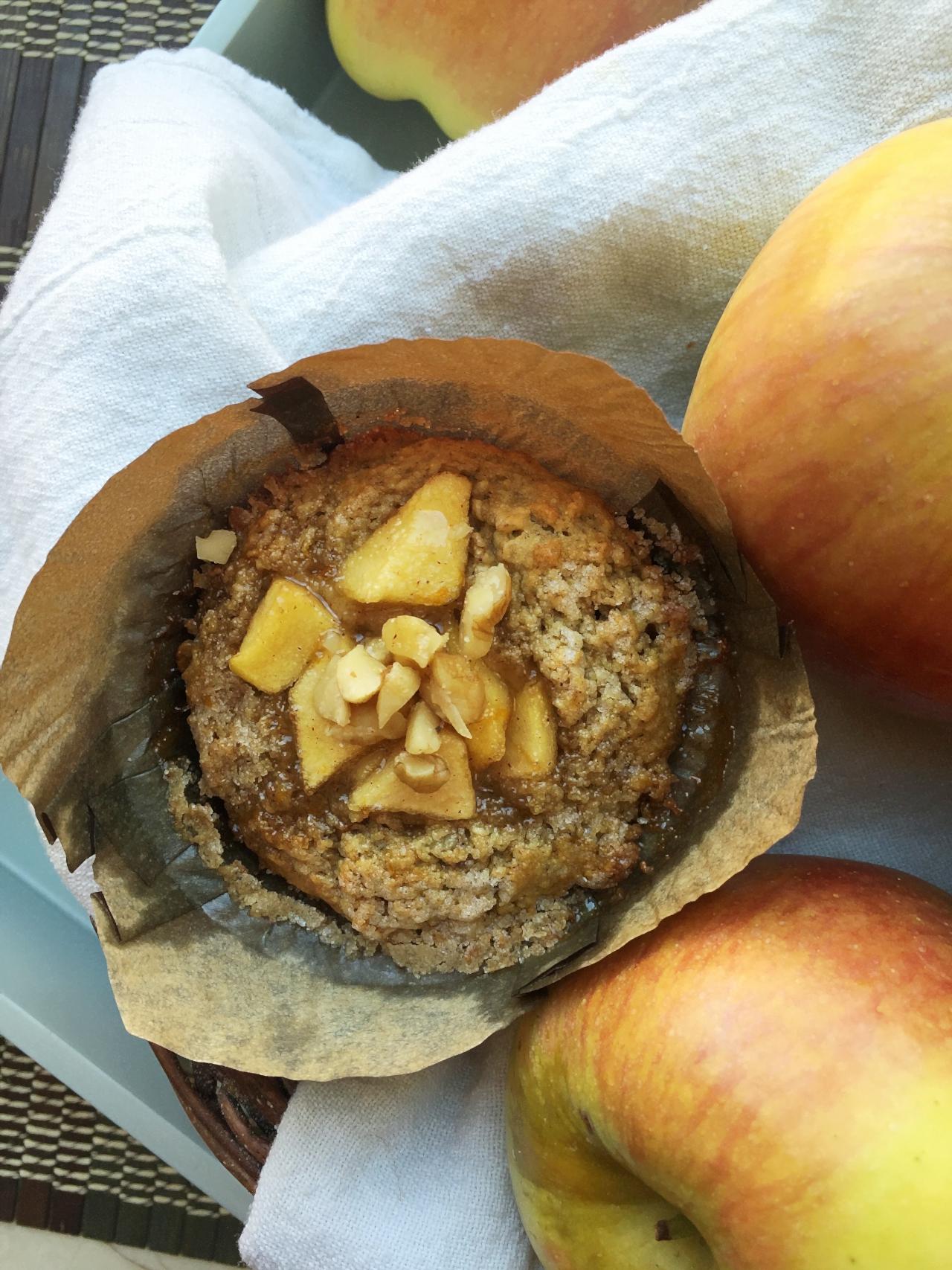 Apple pie muffins (gf)