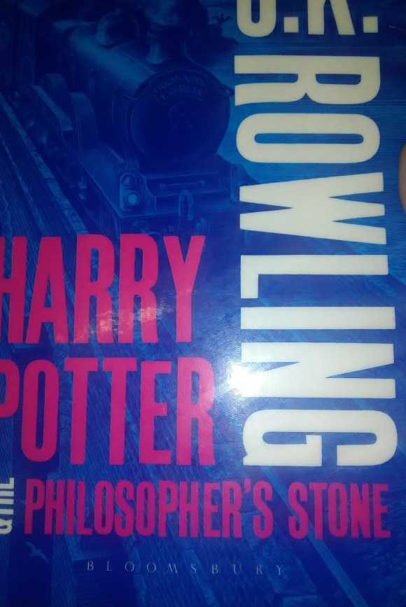 Harry Potter and the Philospopher's Stone in new cover