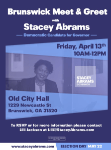 Stacy Abrams Meet and Greet
