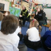 Reception inspired by Police Visit!