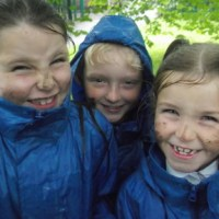 Forest School Fun - even in the rain!!