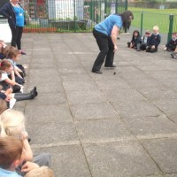 Year 2 launch rockets in science week