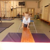 Nursery use the large apparatus
