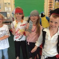Pirate day for key stage one