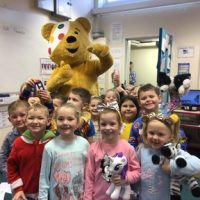 Pudsey visits Glynwood