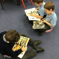 After school reading club off to a flying start.