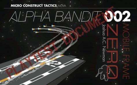 Alpha Bandit Metatopia 2013 playtest cover
