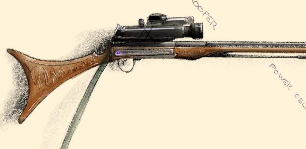 Ashadd Nash's Blaster Rifle (How to Make a Star Wars Guy 3)