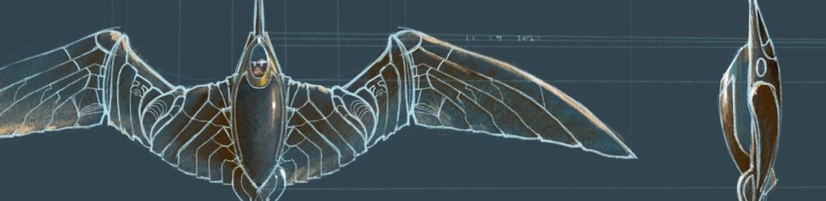 Paul Atreides' Personal Ornithopter