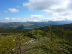 Looking to Loch Tay from the nature area