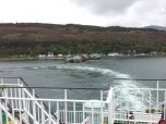 Leaving Craignure