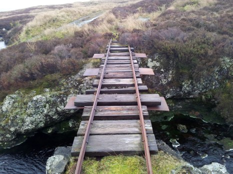 Track over Blacketty Water