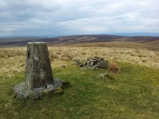 Hill of Stake trig point