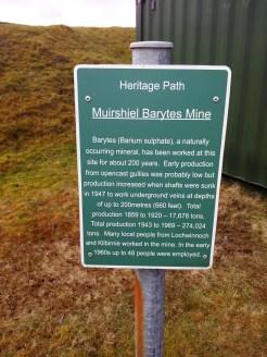Mine heritage info