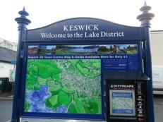 Keswick Information Board