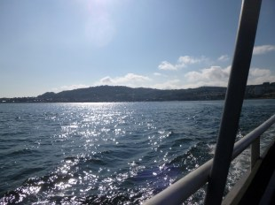 Leaving Gourock