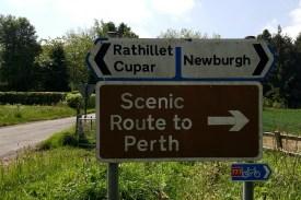 Scenic route chosen