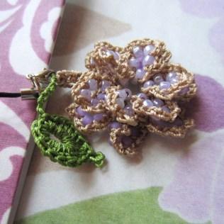 lavender, beaded crochet, etsy 010