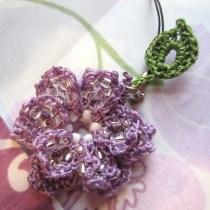 lavender, beaded crochet, etsy 017