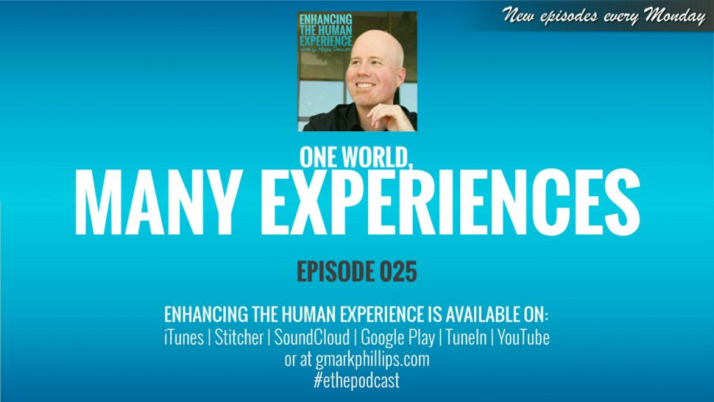 One World Many Experiences