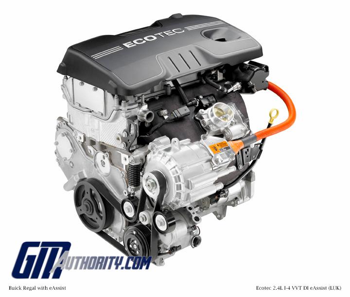 GM 24 Liter I4 Ecotec Hybrid LUK Engine Info Power