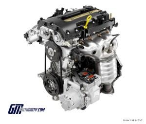 GM 14 Liter I4 Ecotec L2Z Engine Info, Power, Specs, Wiki