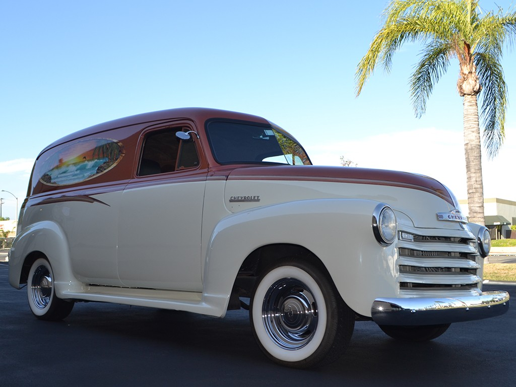 1951 Chevrolet Panel Truck Is Beach Ready GM Authority