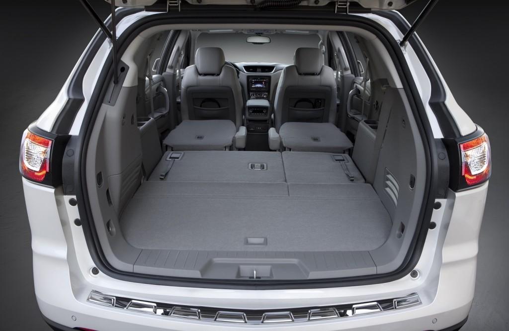 2017 chevrolet traverse interior dimensions - Chevy traverse interior dimensions ...