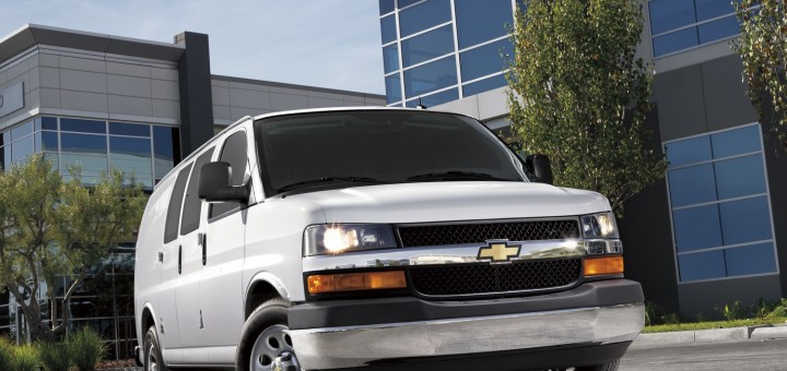 Thieves Steal GM Vans Full Of Police Uniforms   GM Authority 2016 Chevrolet Express Cargo exterior 005