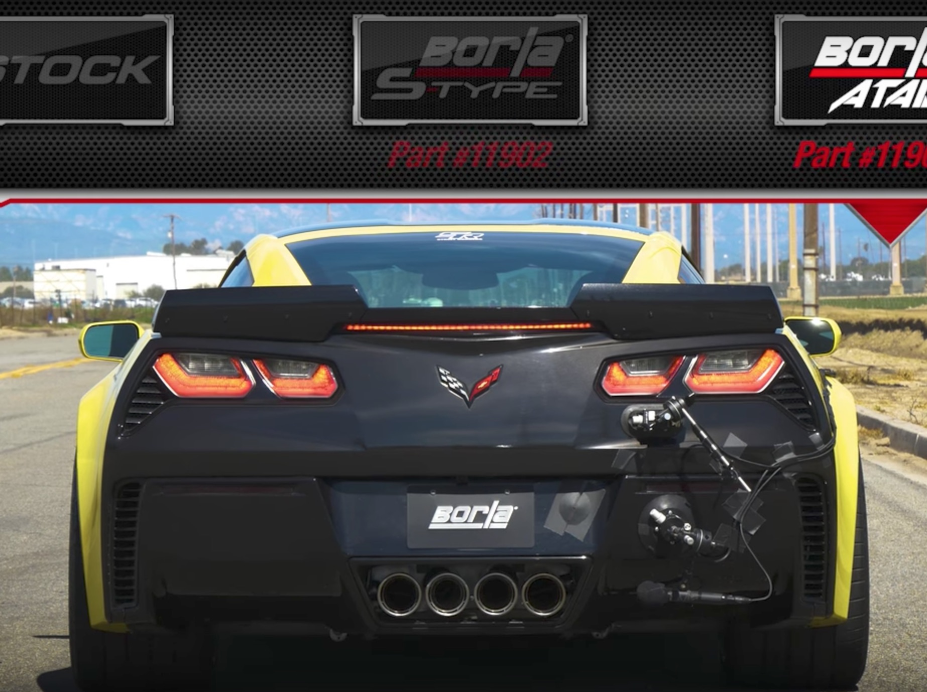 compare borla exhaust systems for
