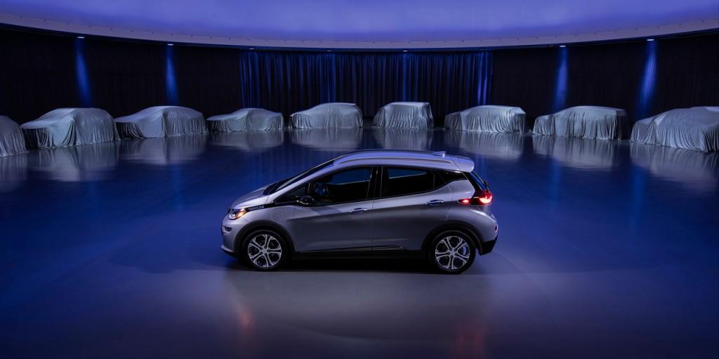 GM announces 20 new electric vehicles - Chevrolet Bolt