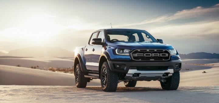 2019 Ford Ranger Raptor for global markets