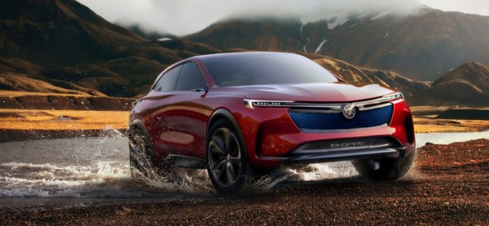 2018 Buick Enspire Concept exterior 001
