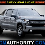 New Renderings Imagine A New Chevy Avalanche Gm Authority