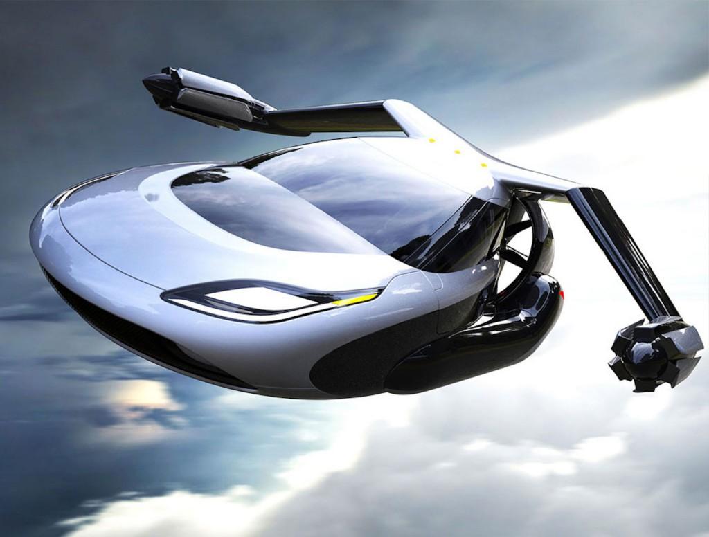 Terrafugia flying car concept