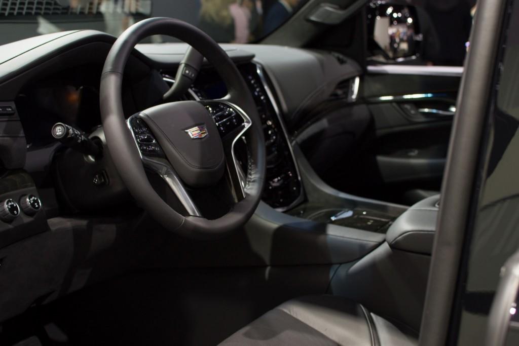 2019 Cadillac Escalade Sport - Interior - Los Angeles Auto Show - November 2018 001