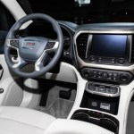 2020 Acadia Interior Adds Space Thanks To New Digital Shifter Gm Authority