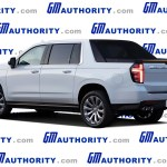 2021 Chevrolet Avalanche Rendered Gm Authority